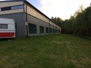 plats för garage